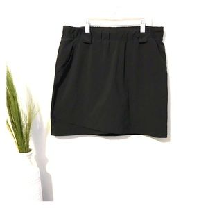 Athleta destination black skort